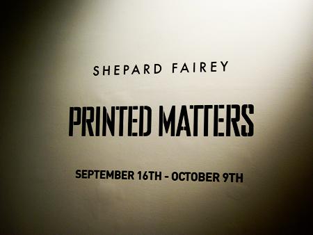 Shepard Fairey - Printed Matters