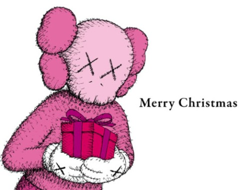 Merry Christmas - KAWS Companion
